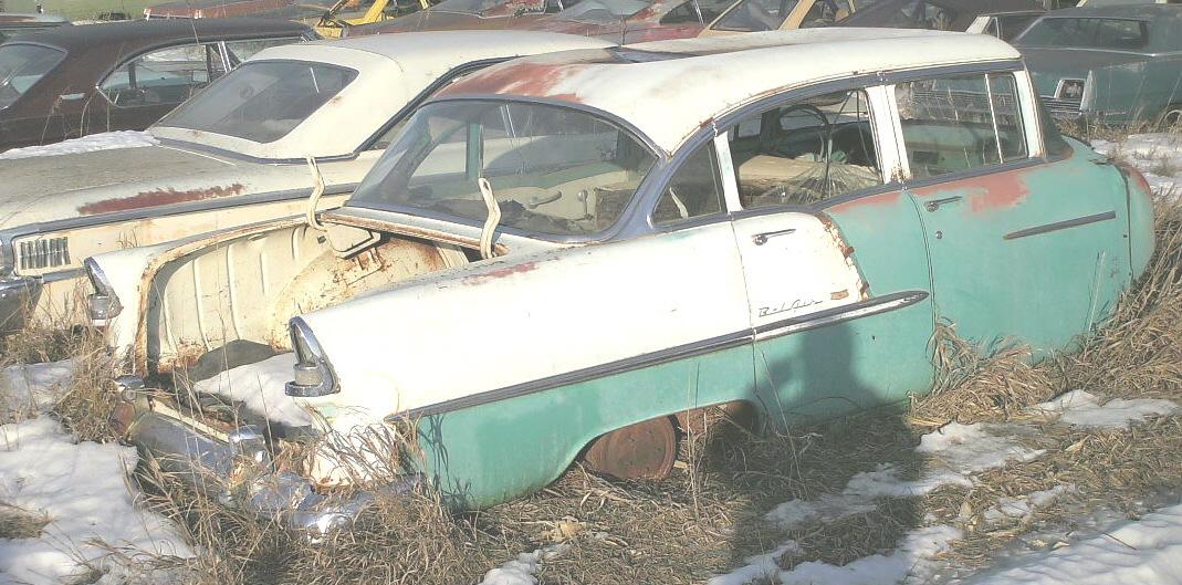 Chevrolet shane 39 s car parts for 1955 chevy 4 door to 2 door conversion