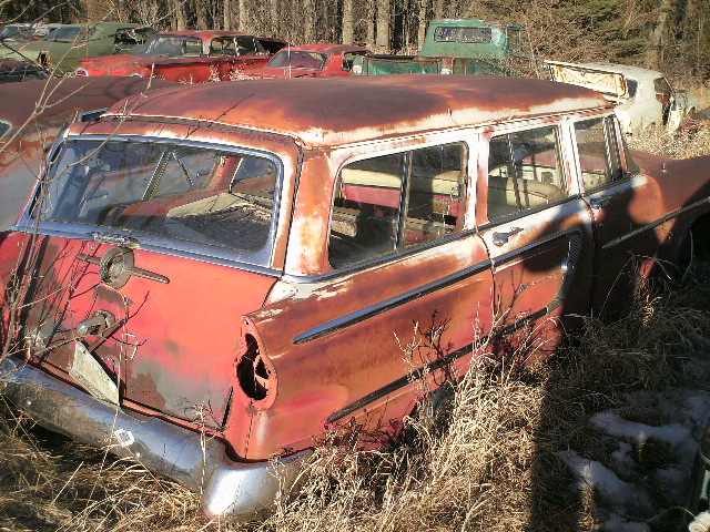 1955 Mercury Station Wagon 850 Sold Shane S Car Parts