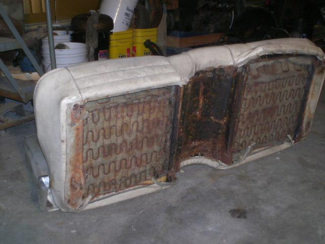 1965 66 Mustang Bench Seat Rare 175 Shane S Car Parts