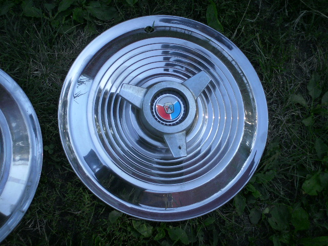 1963 Ford Car 15 Spinner Hubcaps Rare 400 Set