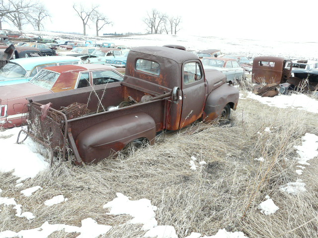 Ford Truck Parts >> 1948 50 F1 Ford Pickup Shane S Car Parts